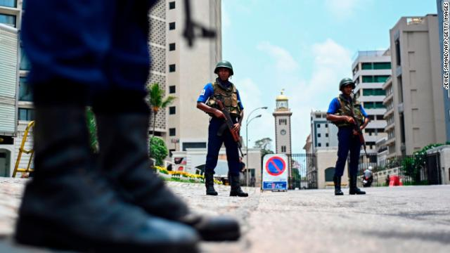 Security is still tight in Colombo after the Easter Sunday attacks