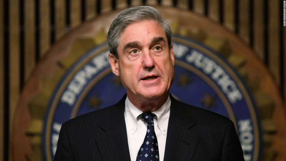 Mueller Says He's Leaving Justice Department