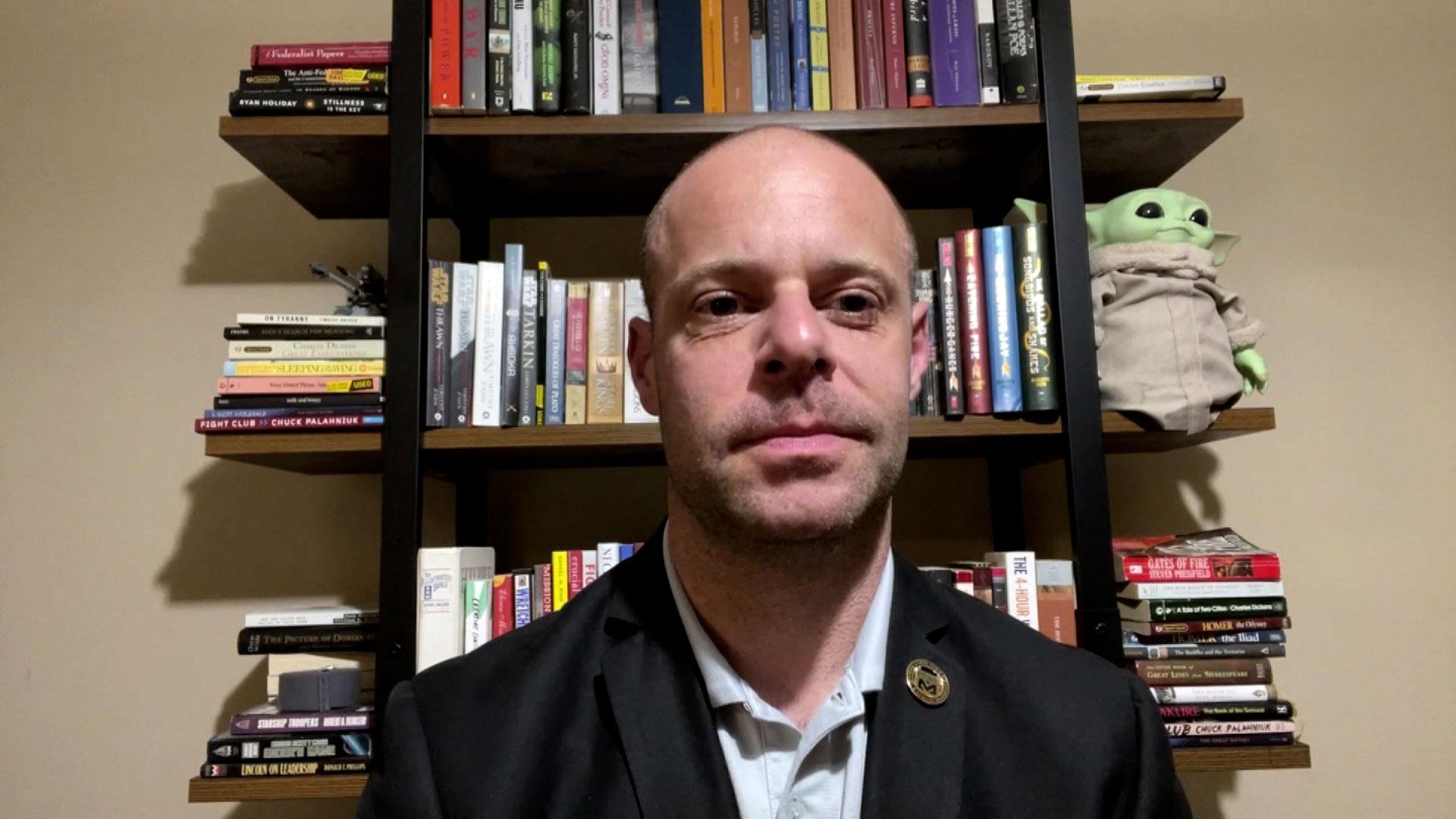 Former US Army Ranger Tom Amenta