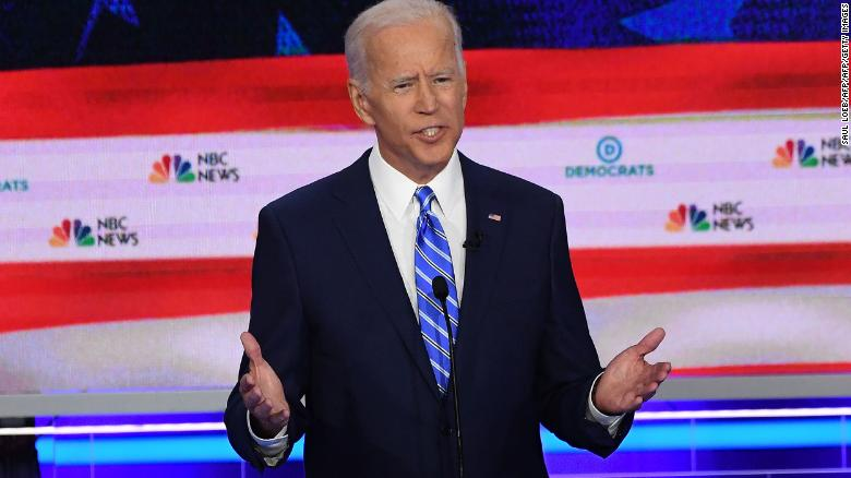 Biden, Sanders among contenders on stage at 2nd Democratic presidential debate