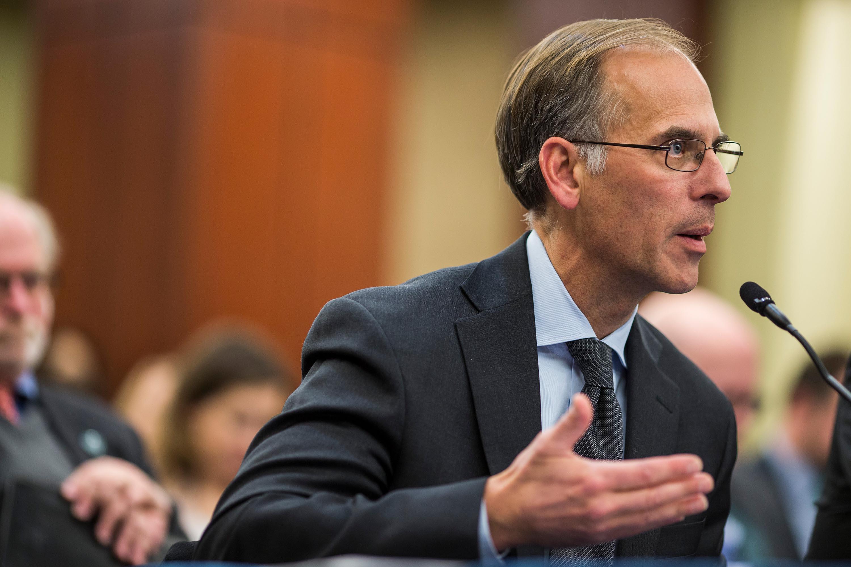 Moody's Analytics Chief Economist Mark Zandi speaks during a forum in December 2017 in Washington, DC.