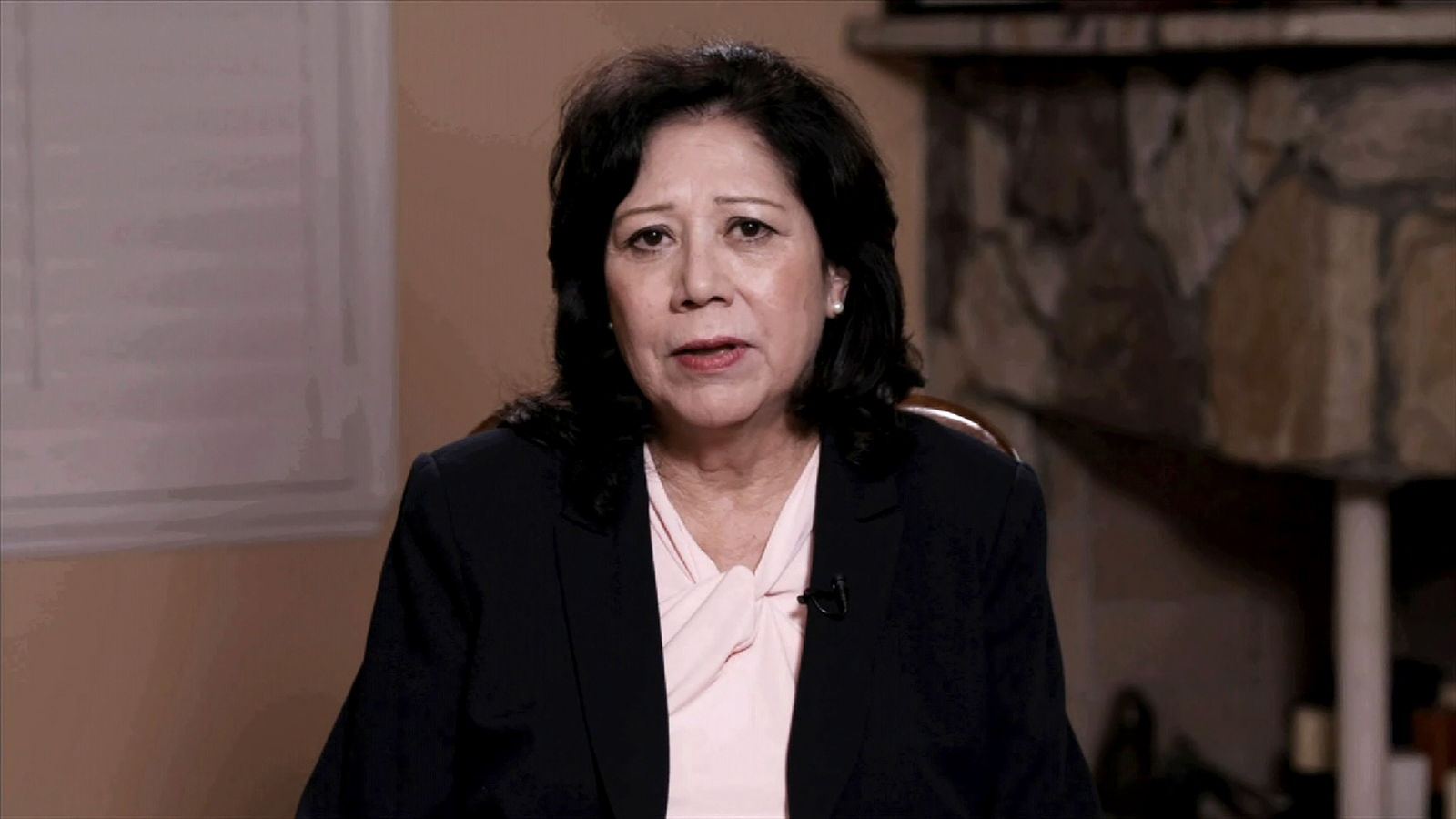 Former Secretary of Labor Hilda Solis.