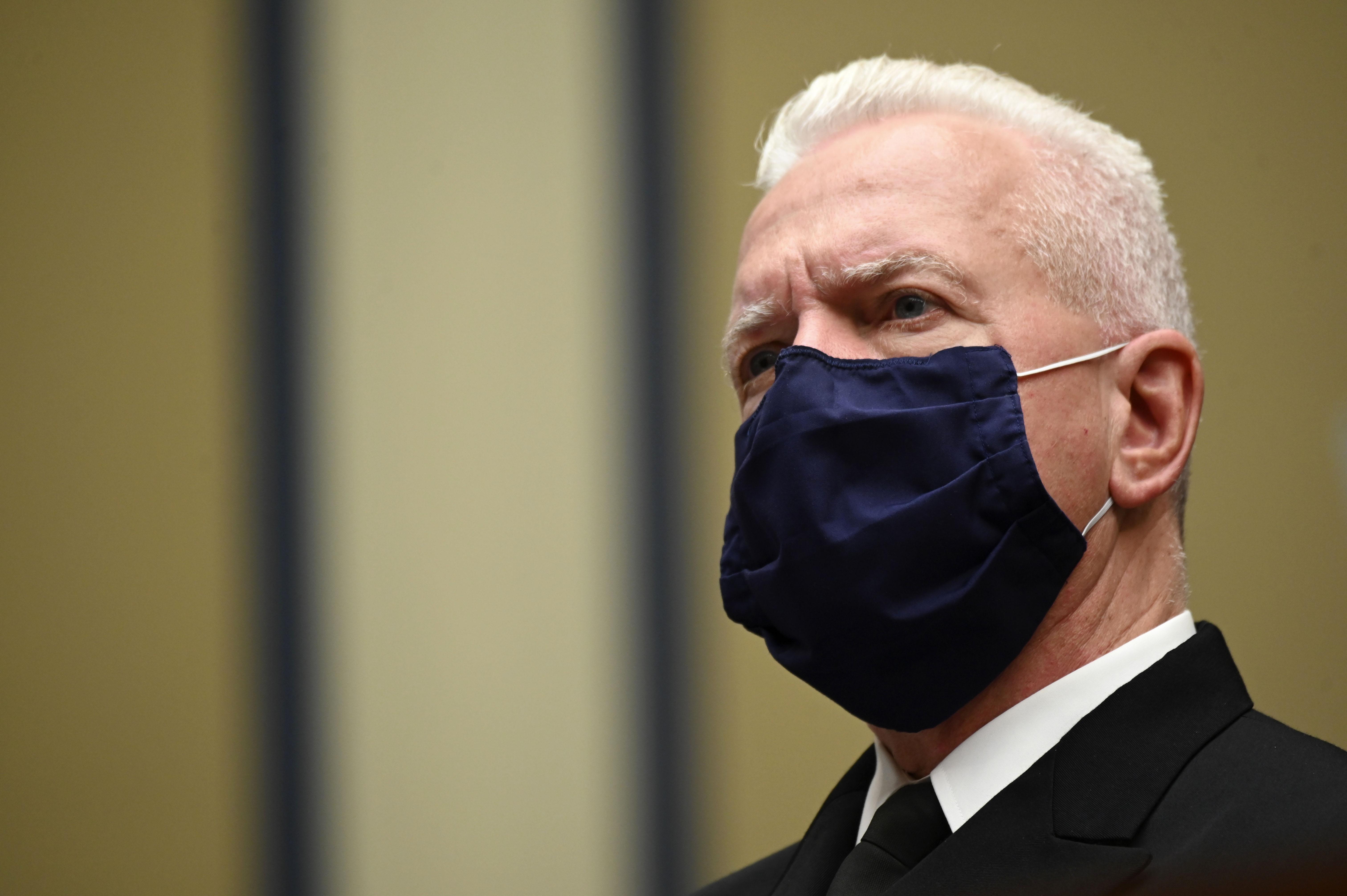 Adm. Brett Giroir attends a hearing on July 31 in Washington, DC.