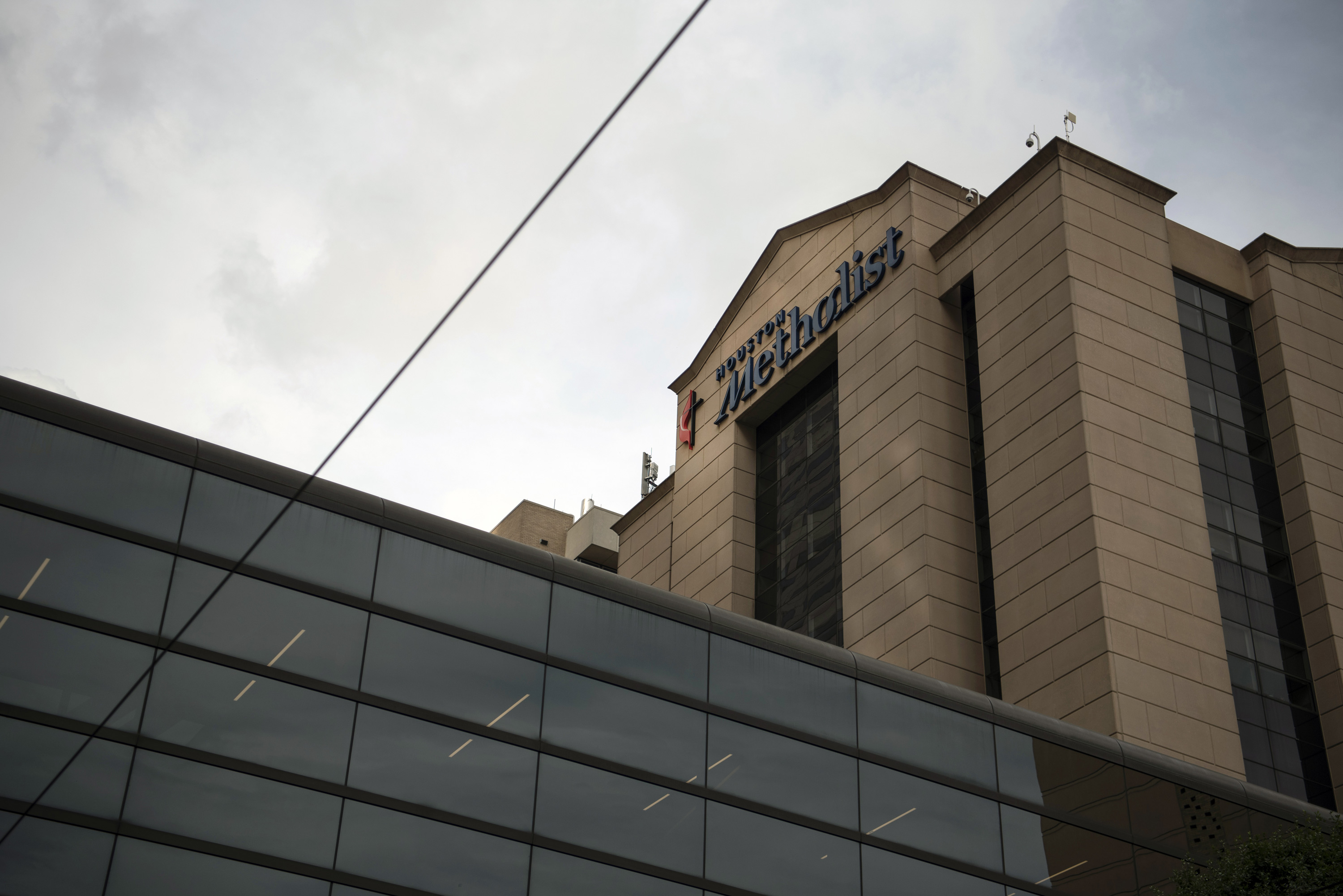 Houston Methodist Hospital stands at the Texas Medical Center campus in Houston, Texas, on June 24, 2020.