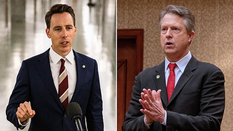 Senators Josh Hawley and Roger Marshall