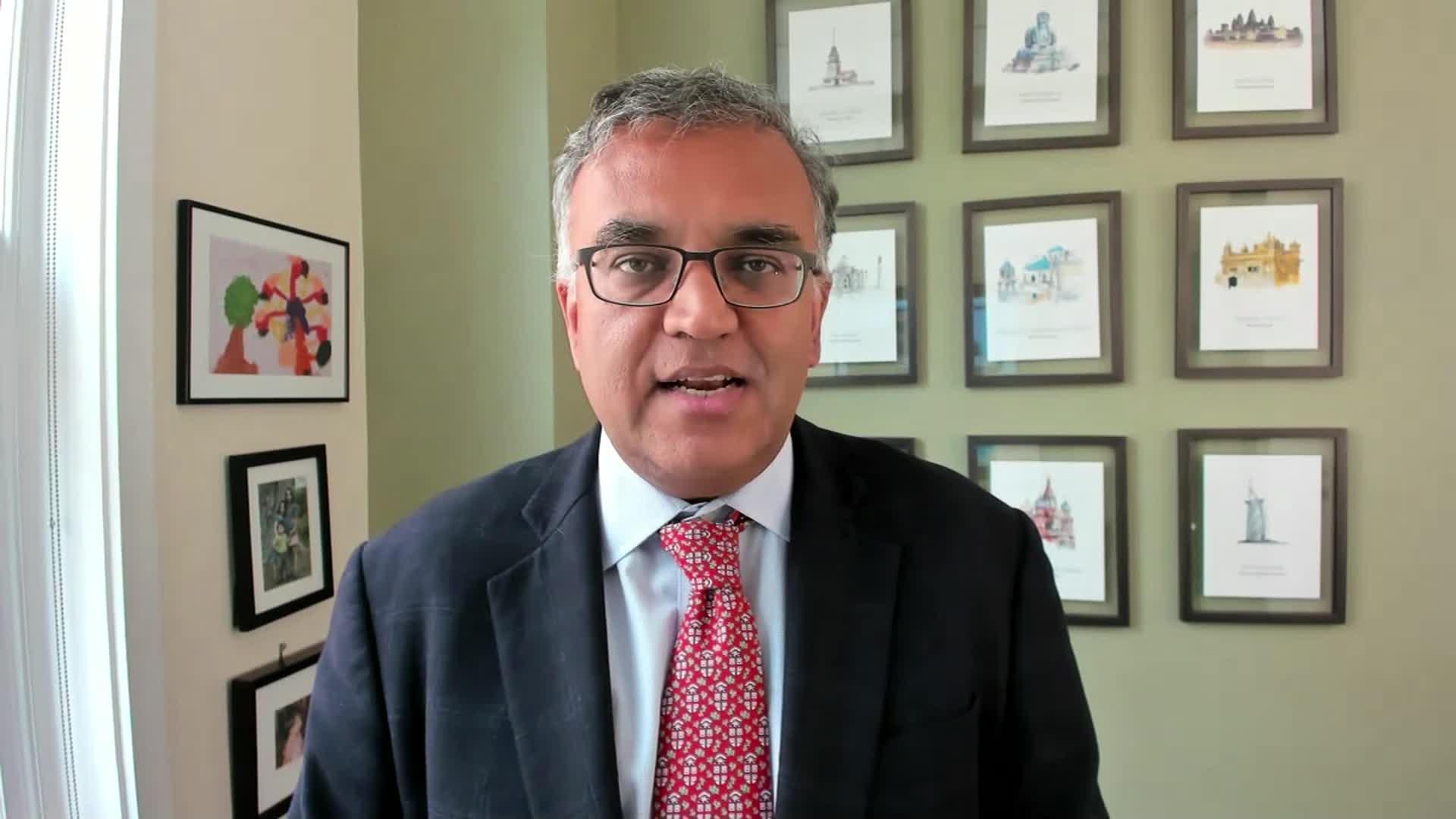 Public health expert Dr. Ashish Jha.