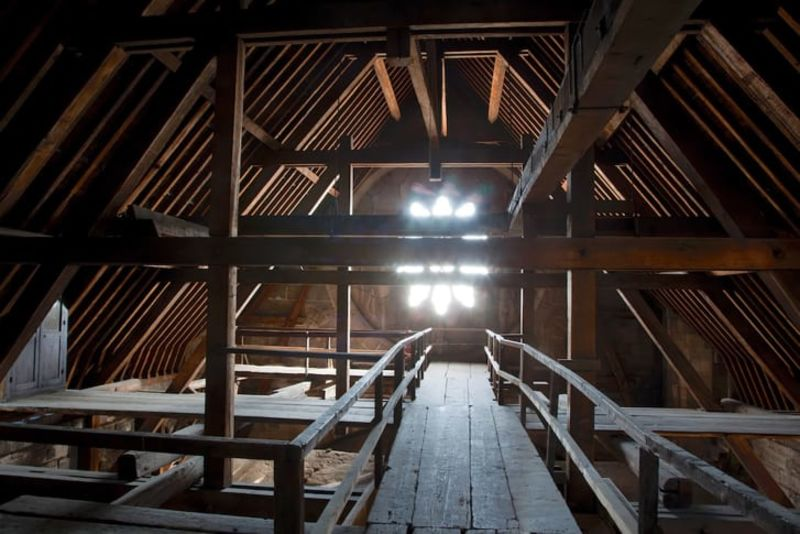 Images from the cathedral's website show the ancient wooden structures.