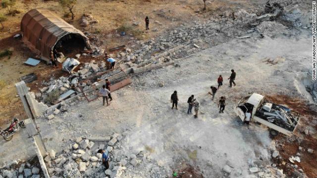 सुरंग विस्फोट आईएस सरगना बगदादी