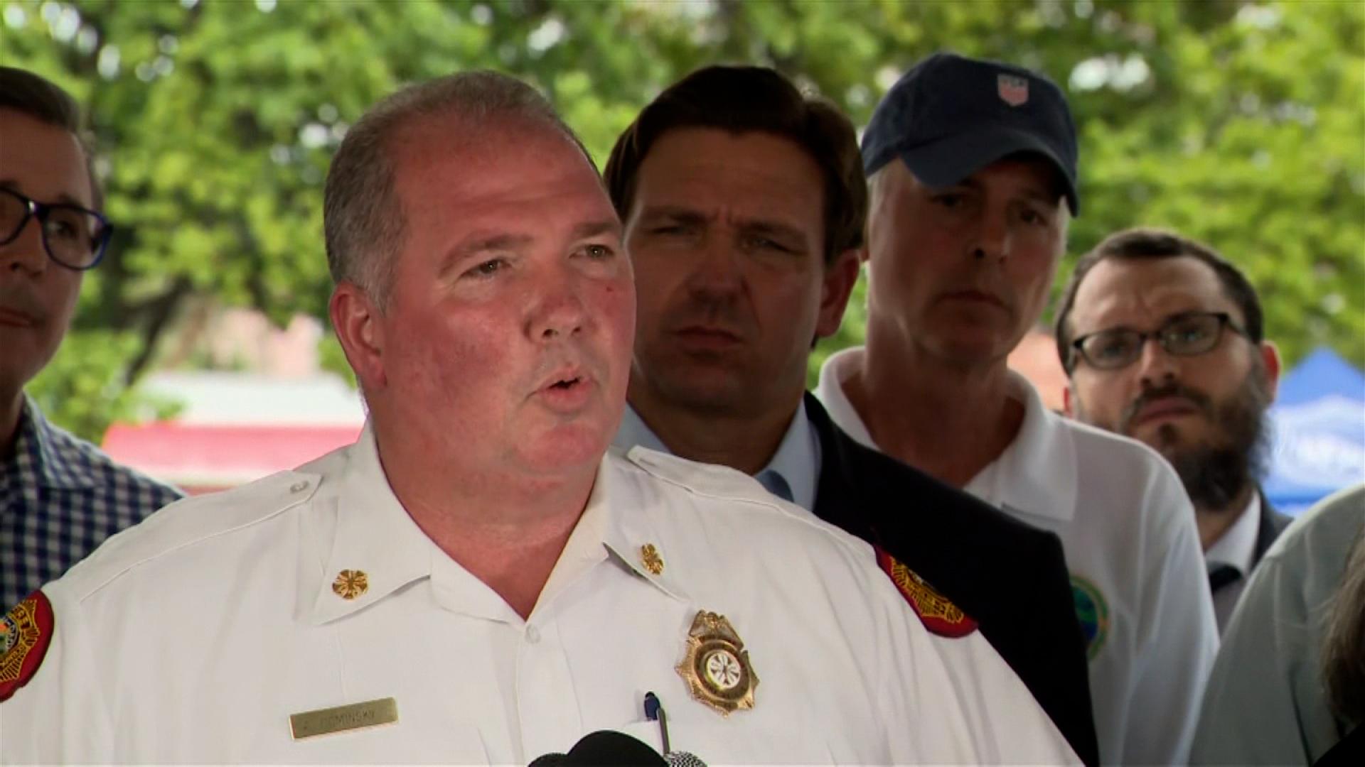 Miami Dade Fire Chief Alan Cominsky.