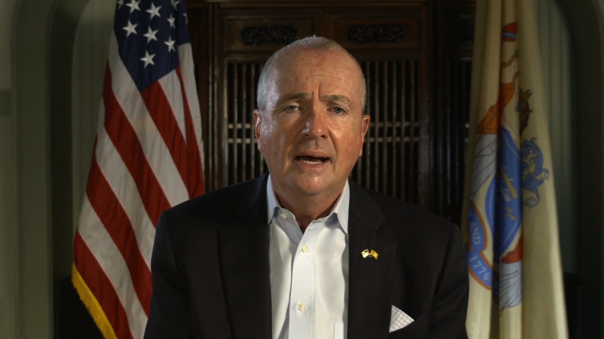 """New Jersey Gov. Phil Murphy on CNN's """"New Day"""" on August 14."""