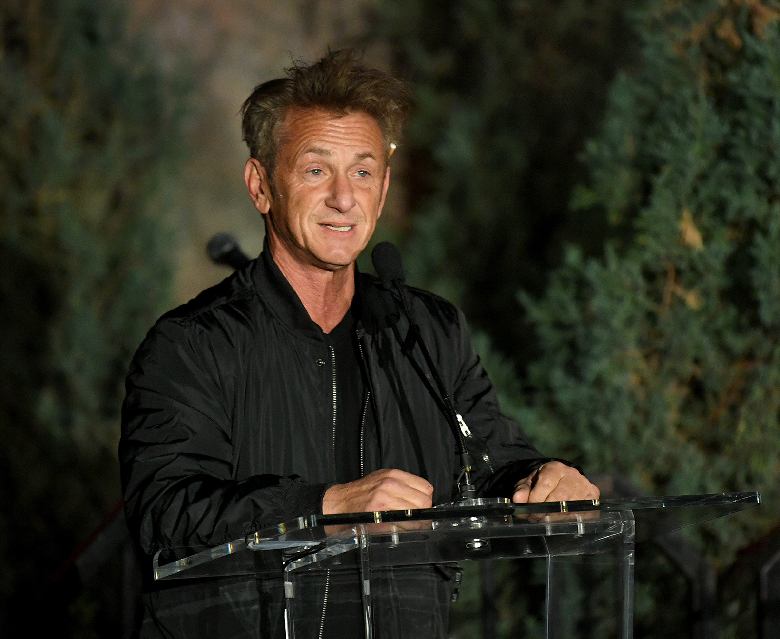 Sean Penn seen sevent benefiting Australia Wildlife Relief Efforts at Los Angeles Zoo, on March 08.