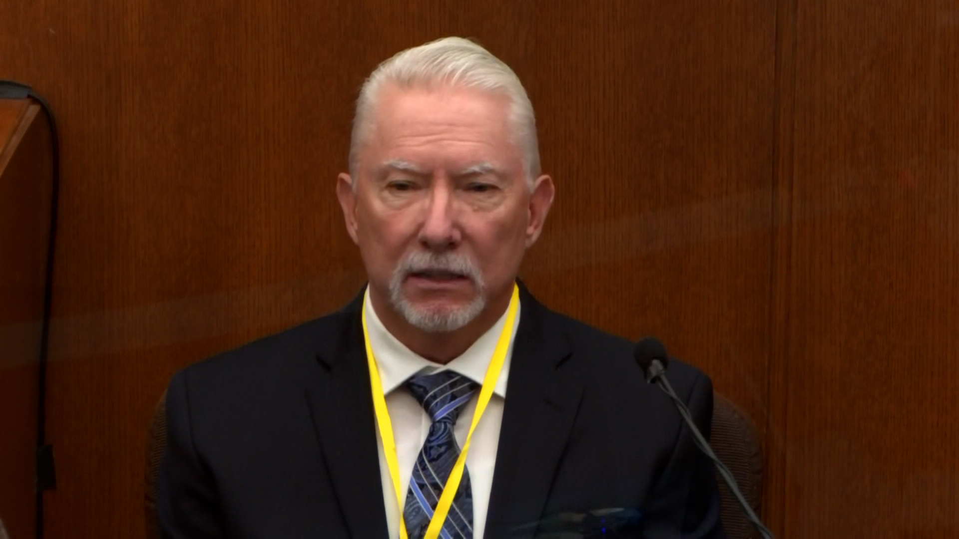 Defense expert witness Barry Brodd.
