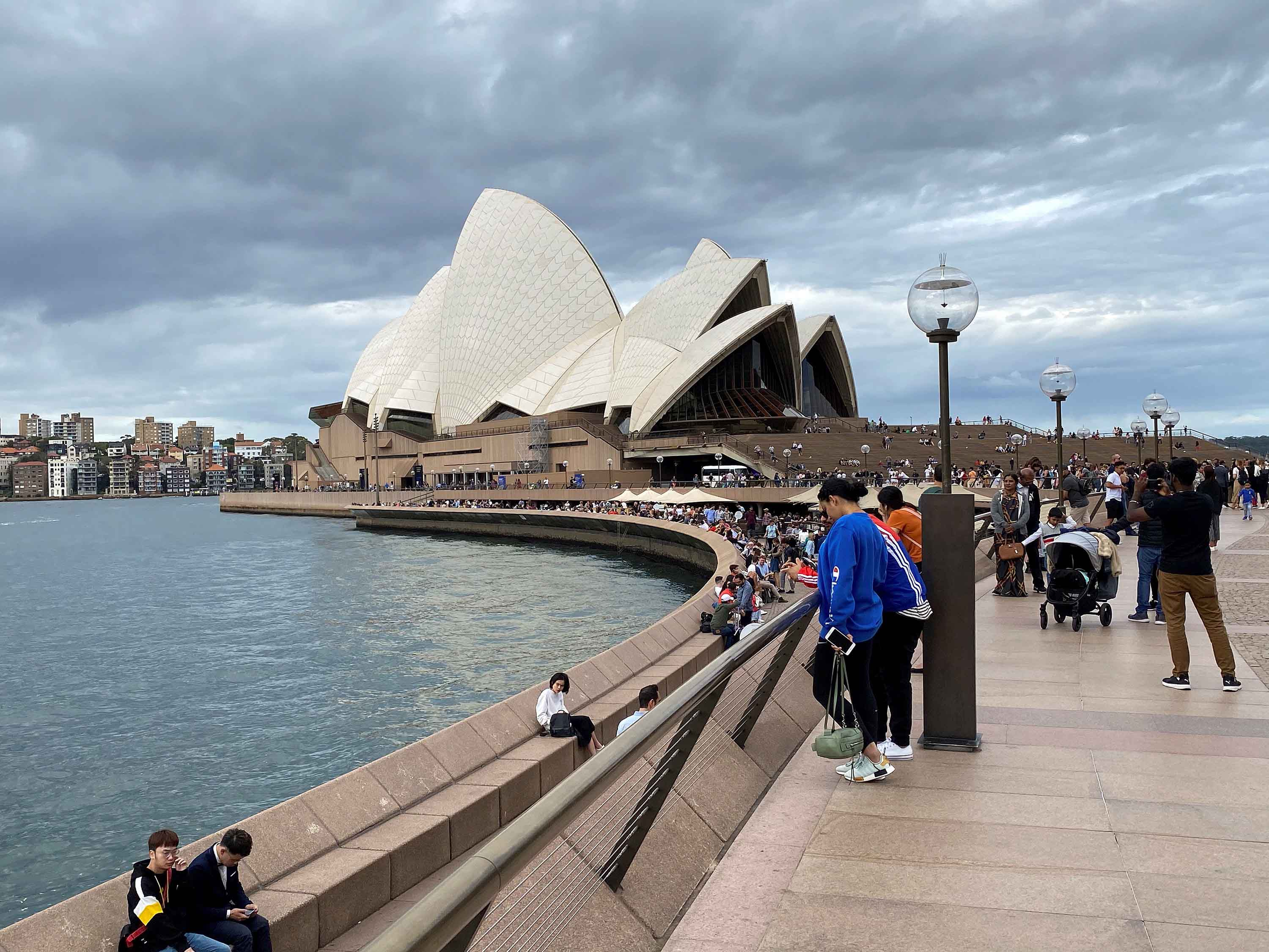 The Sydney Opera House is pictured on March 8, in Sydney, Australia.