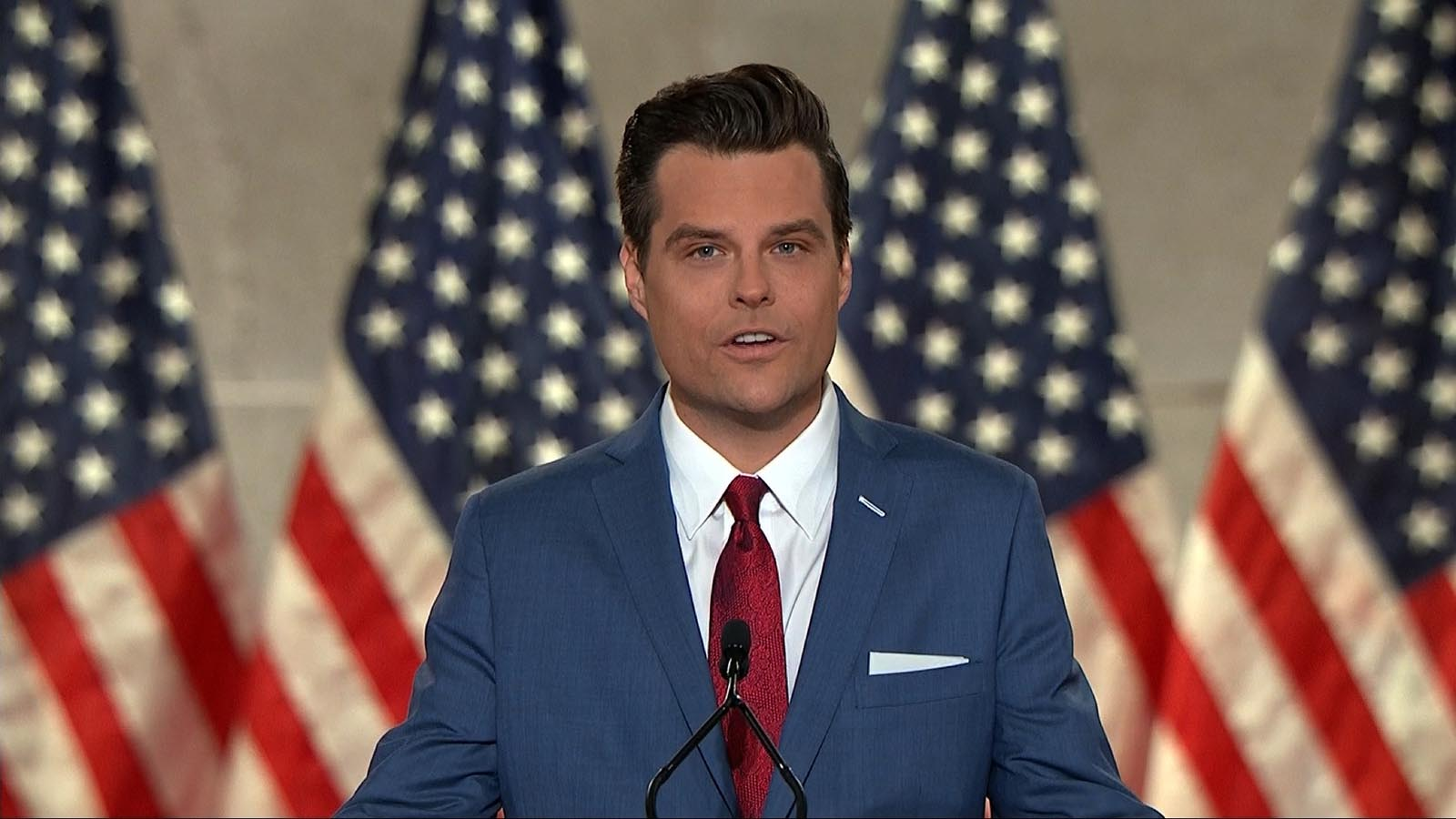 Florida Rep. Matt Gaetz.