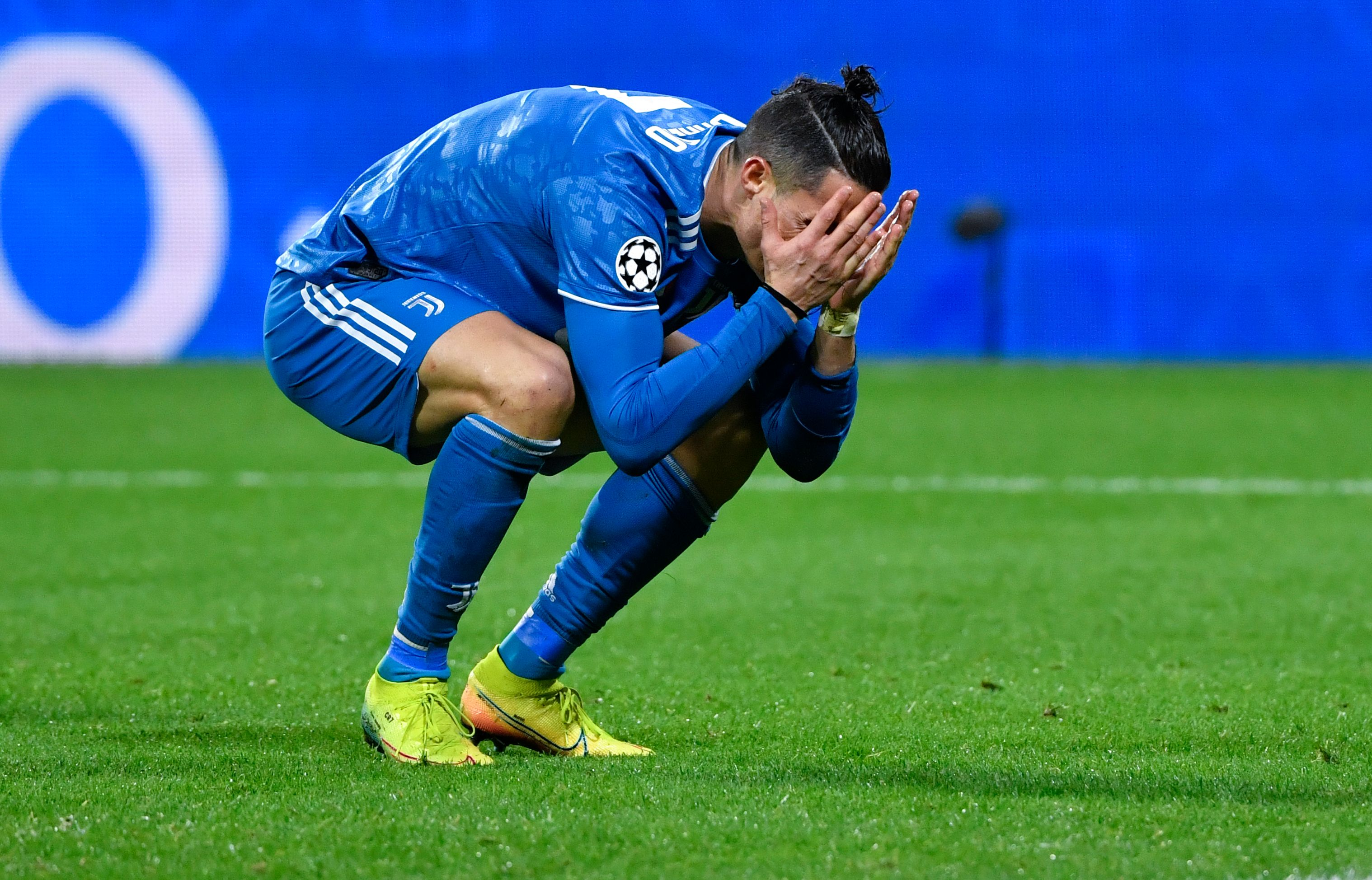 Cristiano Ronaldo's frustration was clear to see.