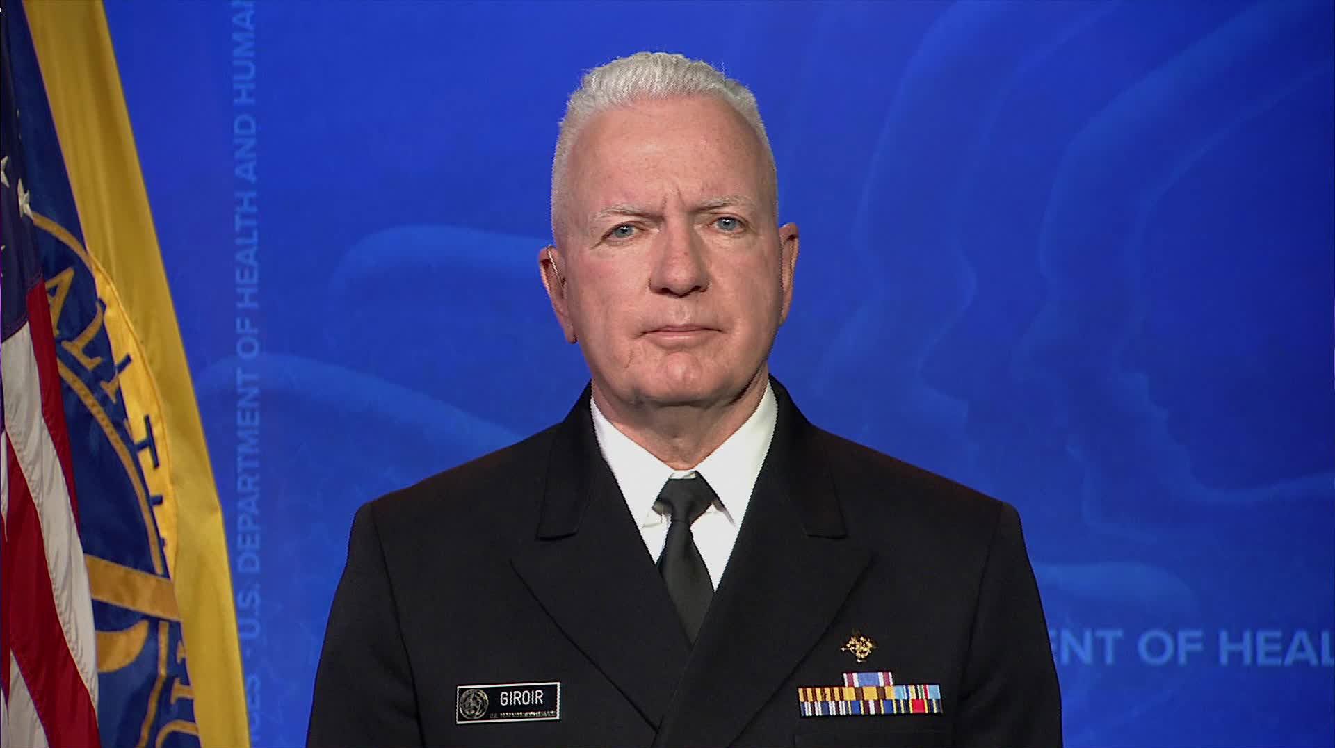 Admiral Brett Giroir, assistant secretary for health, on December 21.