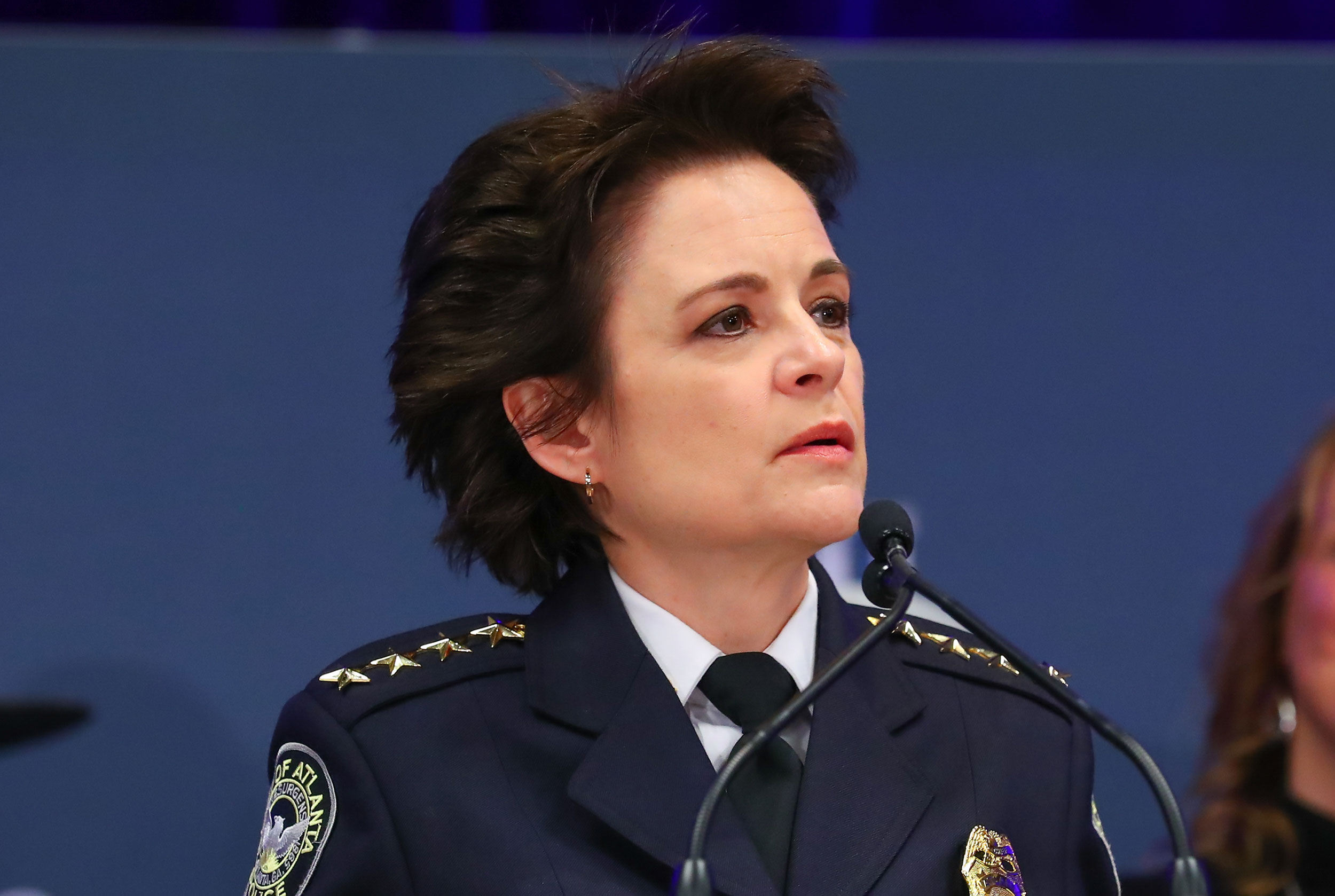Atlanta Police Chief Erika Shields.