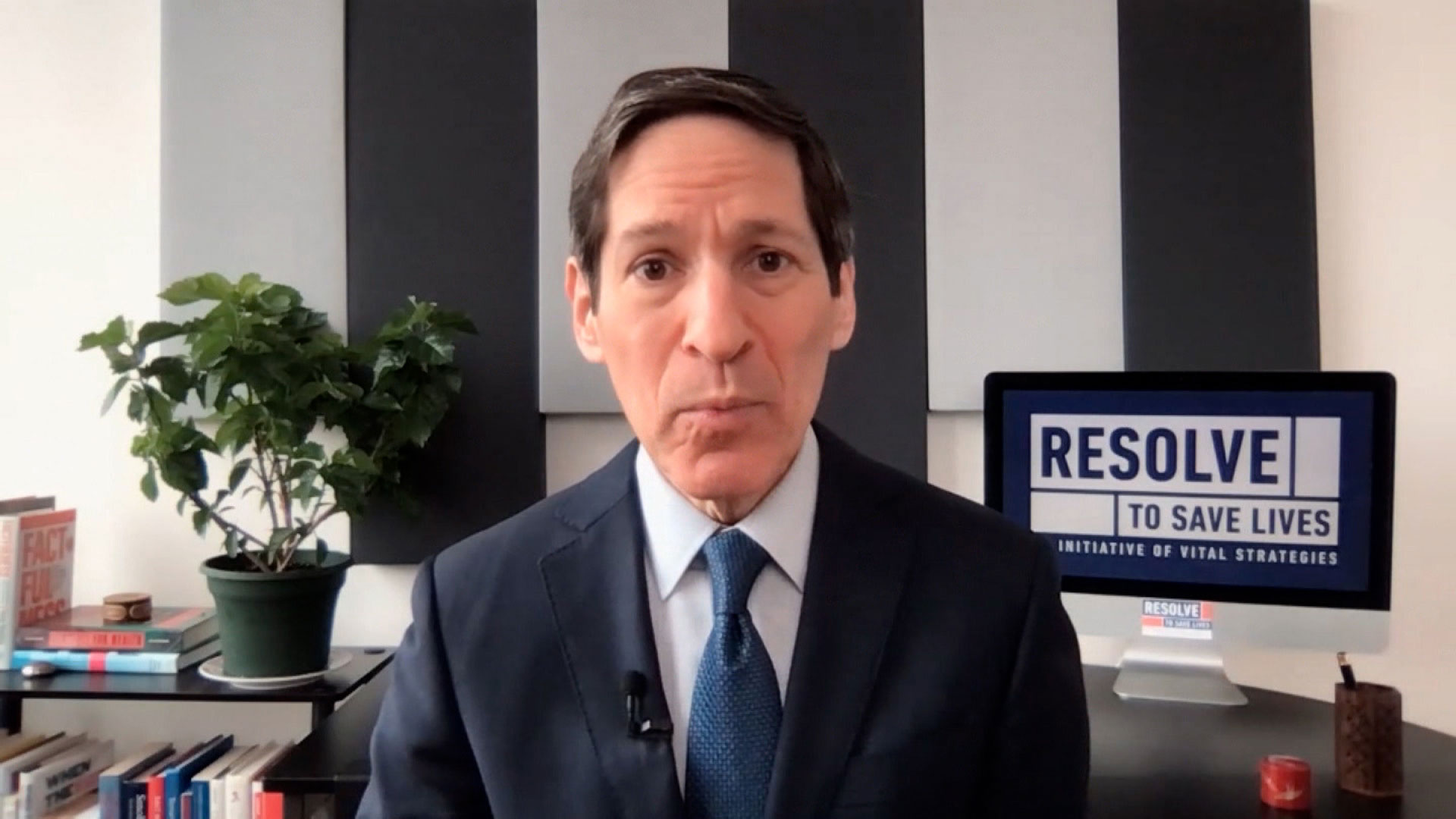 Dr. Tom Frieden on February 14.