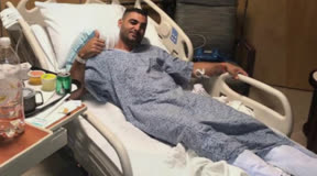 Almog Peretz was injured in the shooting.