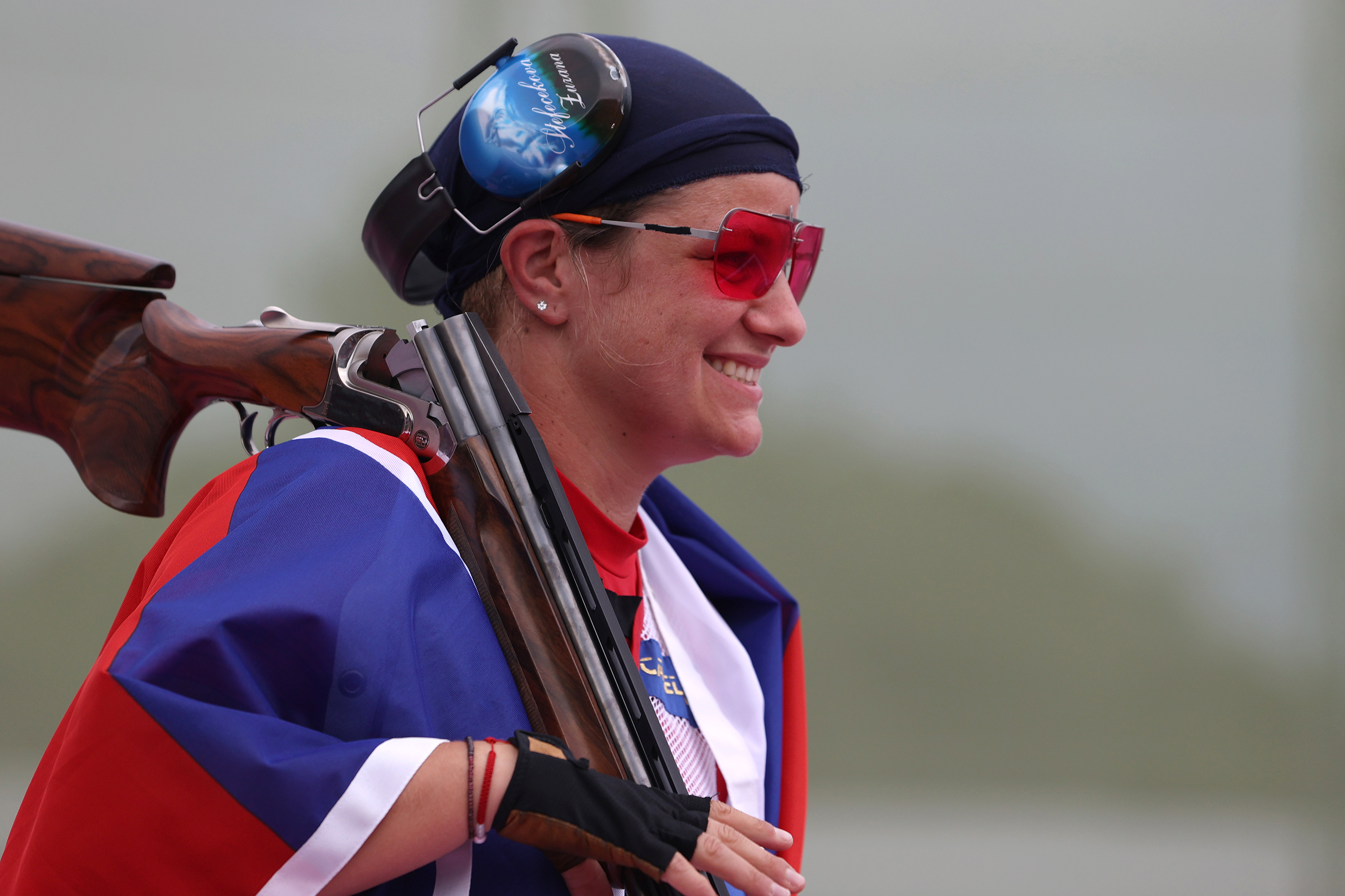 Slovakian sets an Olympic record, San Marino earns first-ever Olympic medal in women's trap final