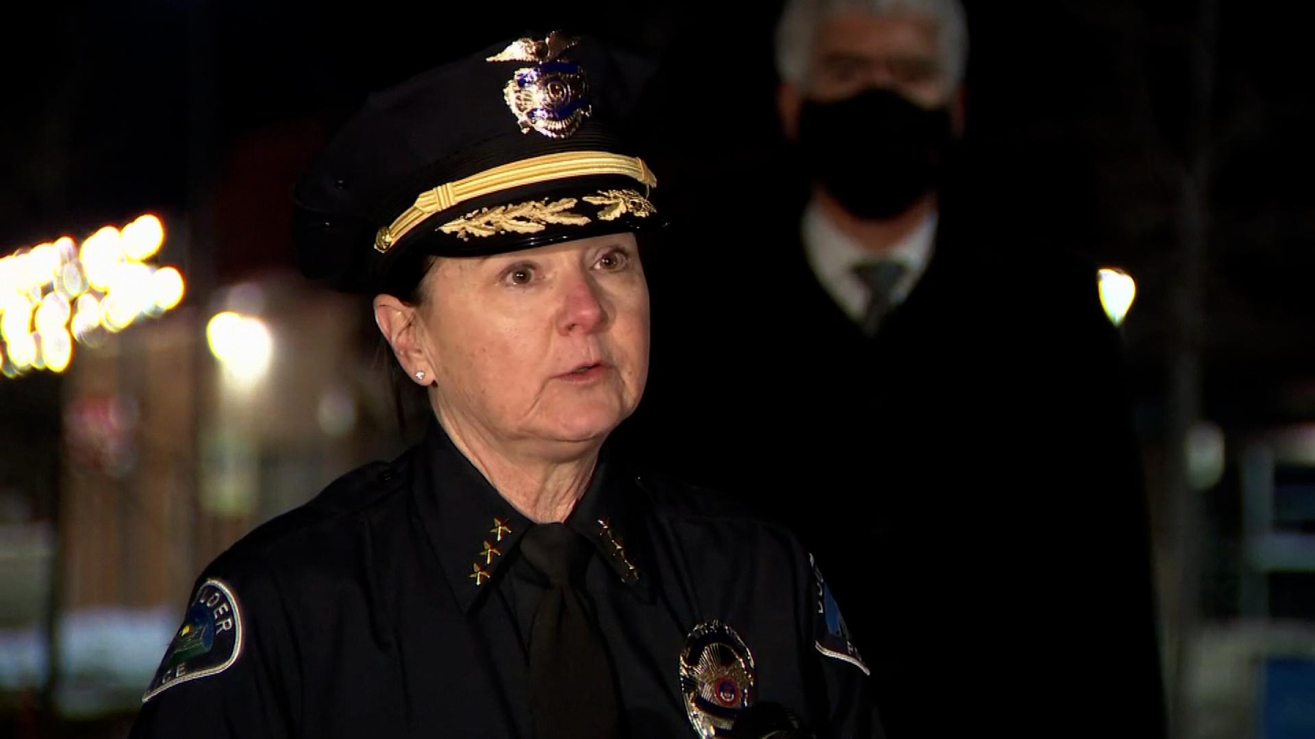 Boulder Police Chief Maris Herold.