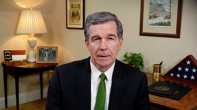 North Carolina Gov. Roy Cooper