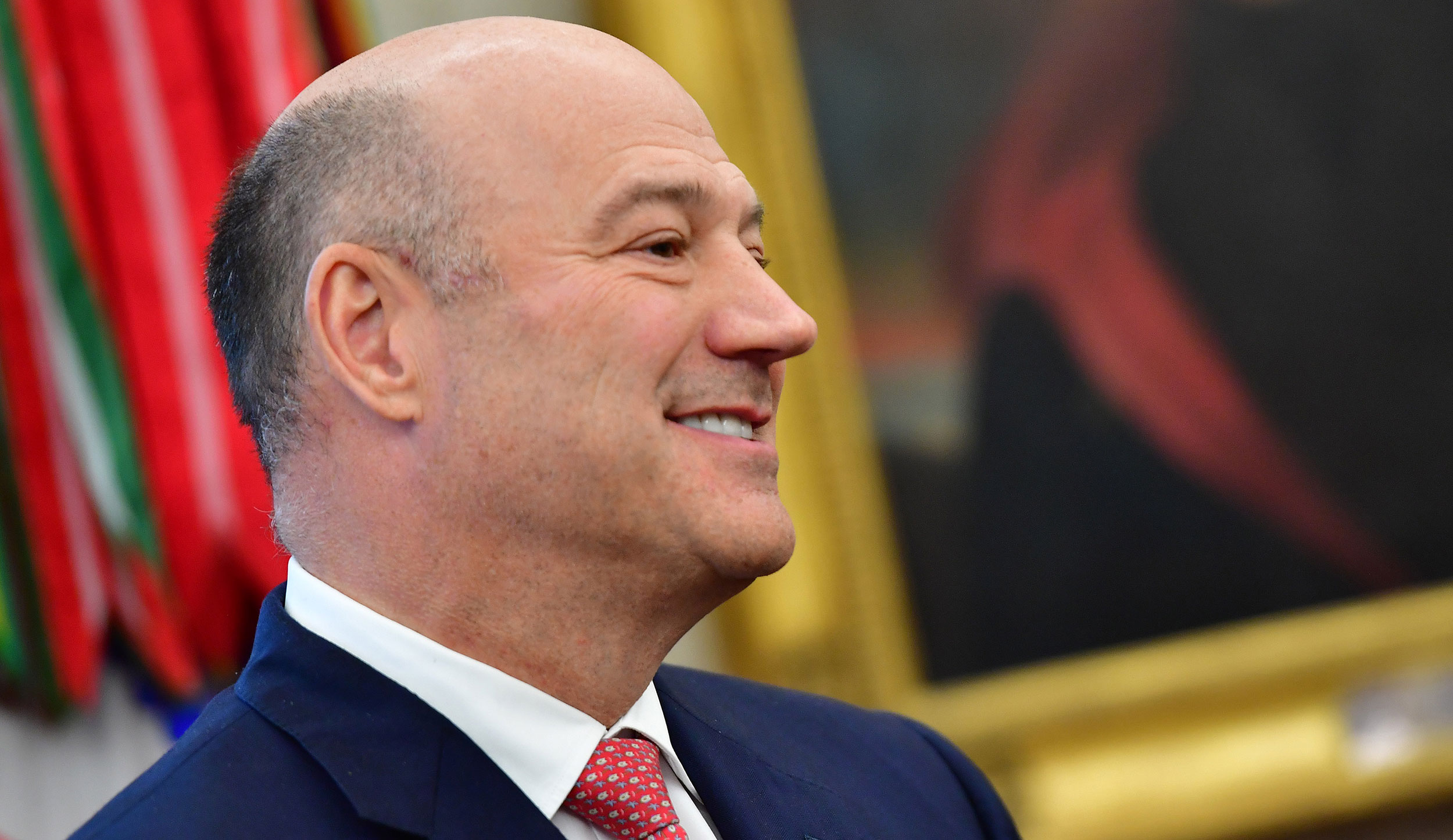 Gary Cohn attends a meeting at the White House in Washington, DC, in 2018.