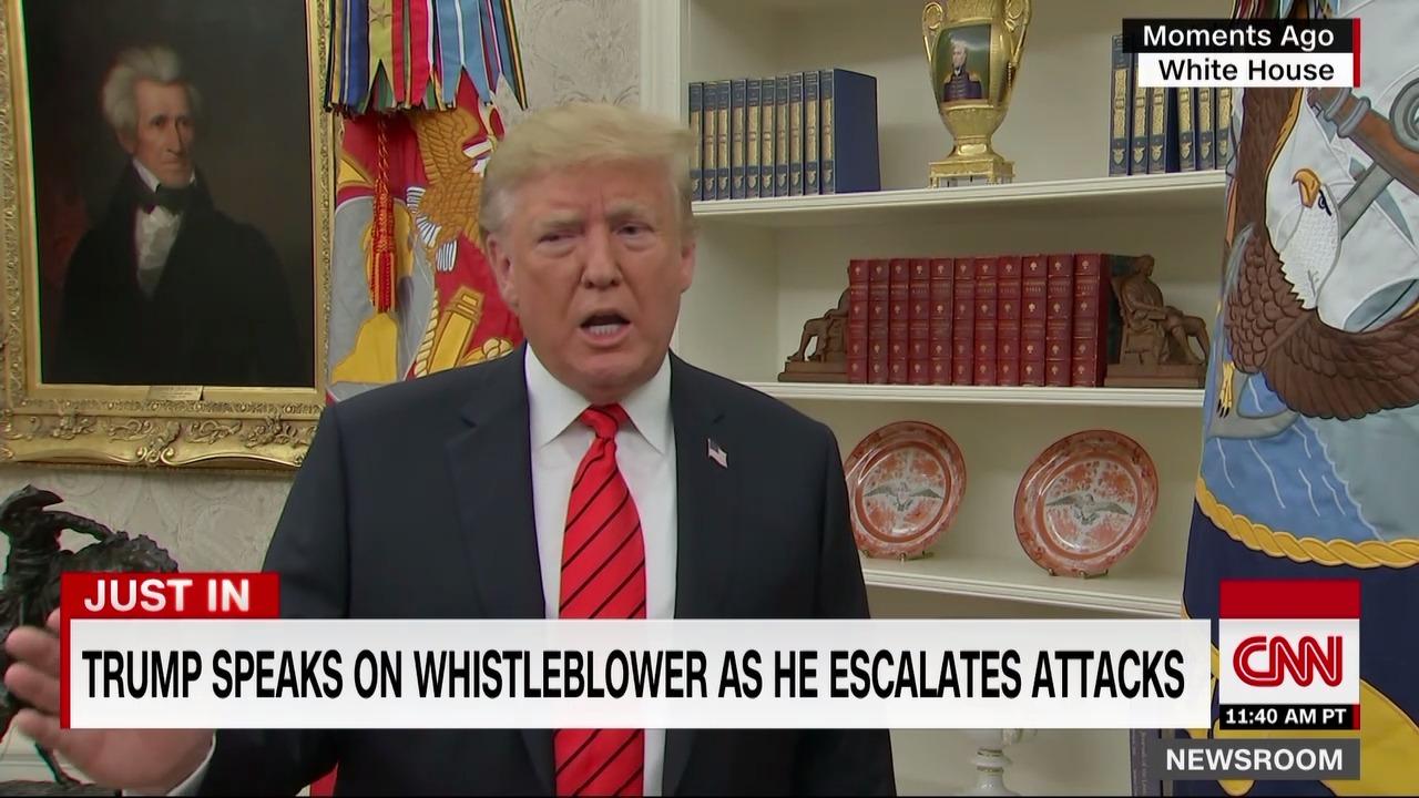 Трамп клянется он найдет свистуна