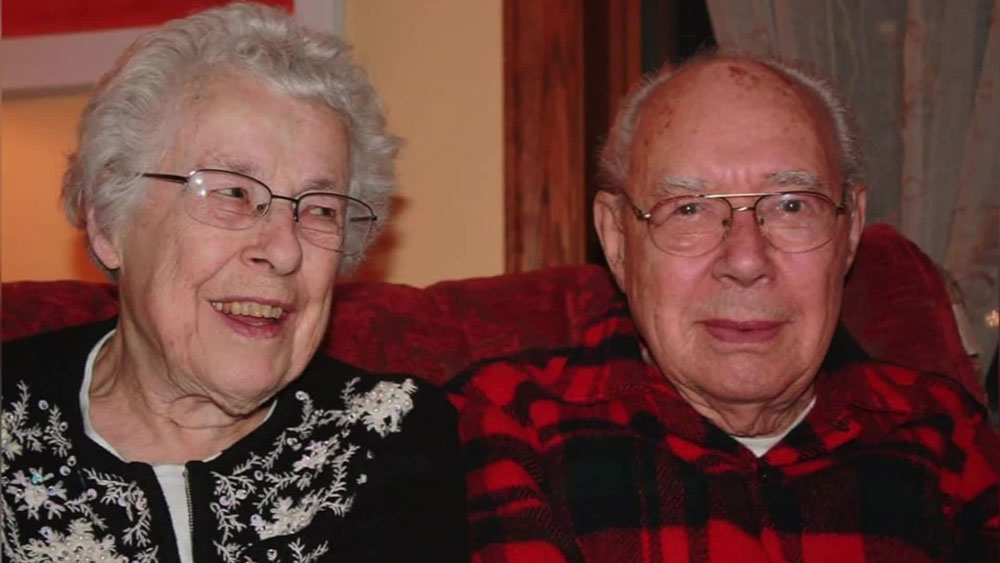 Mary and Wilford Kepler died beside each other at a Wisconsin hospital after 73 years of marriage.
