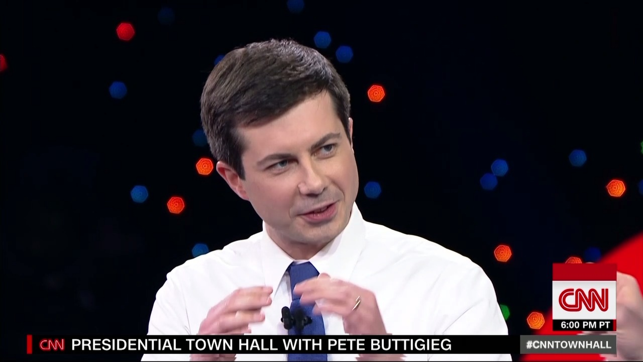 Image result for images of Pete Buttigieg cnn
