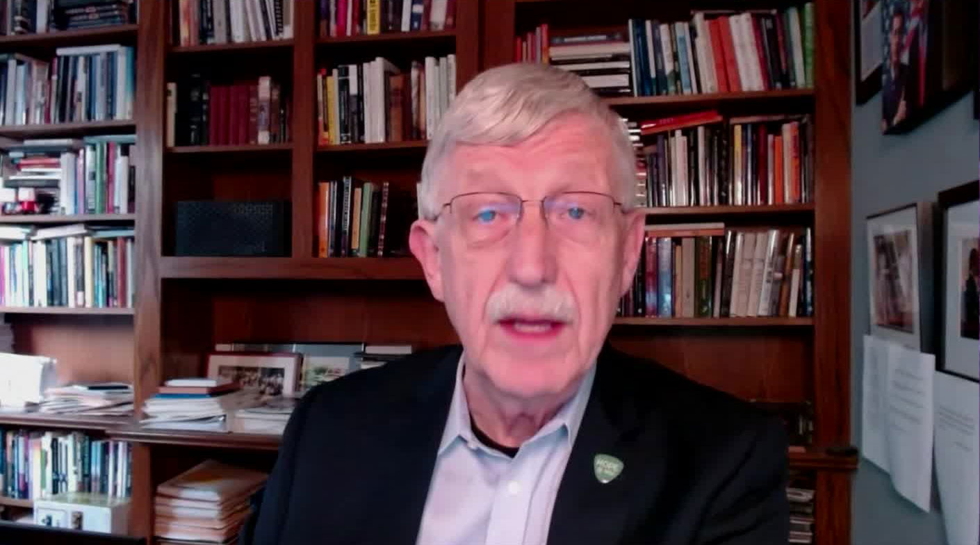 Dr. Francis Collins, director of the National Institutes of Health, on December 23.