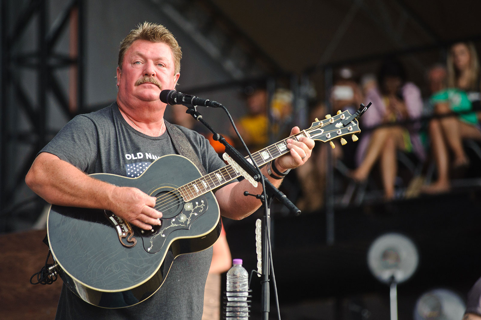 Joe Diffie performs at Country Thunder Milwaukee in Twin Lakes, Wisconsin, in 2016.