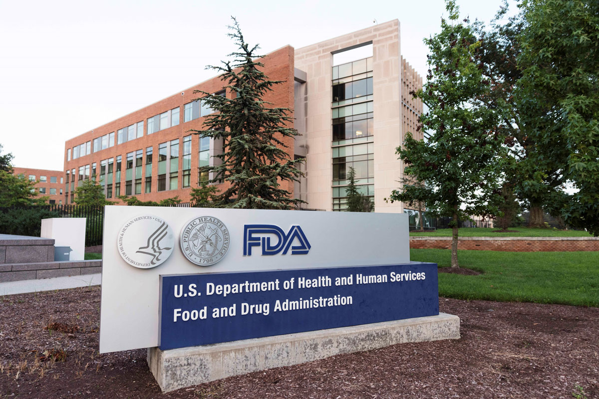 The Food and Drug Administration headquarters in Silver Spring, Maryland.