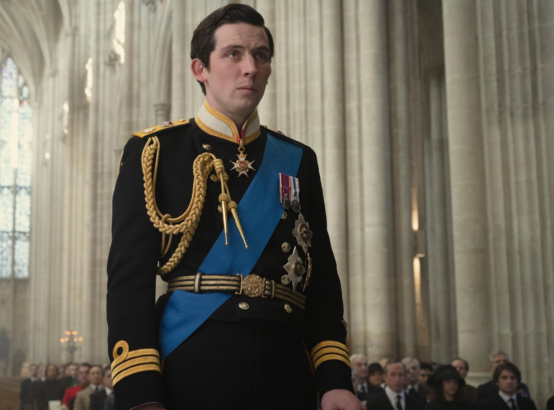 """Josh O'Connor in """"The Crown."""""""
