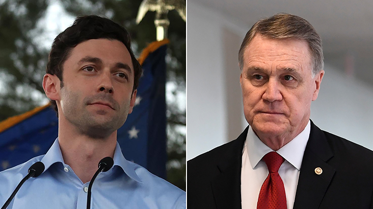 Jon Ossoff will likely face incumbent Davide Perdue in a runoff on January 5.