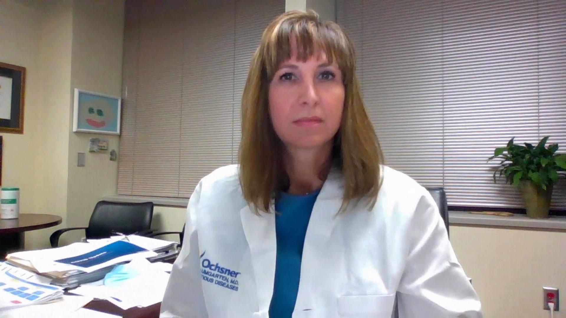 Dr. Katherine Baumgarten on August 4, 2021.