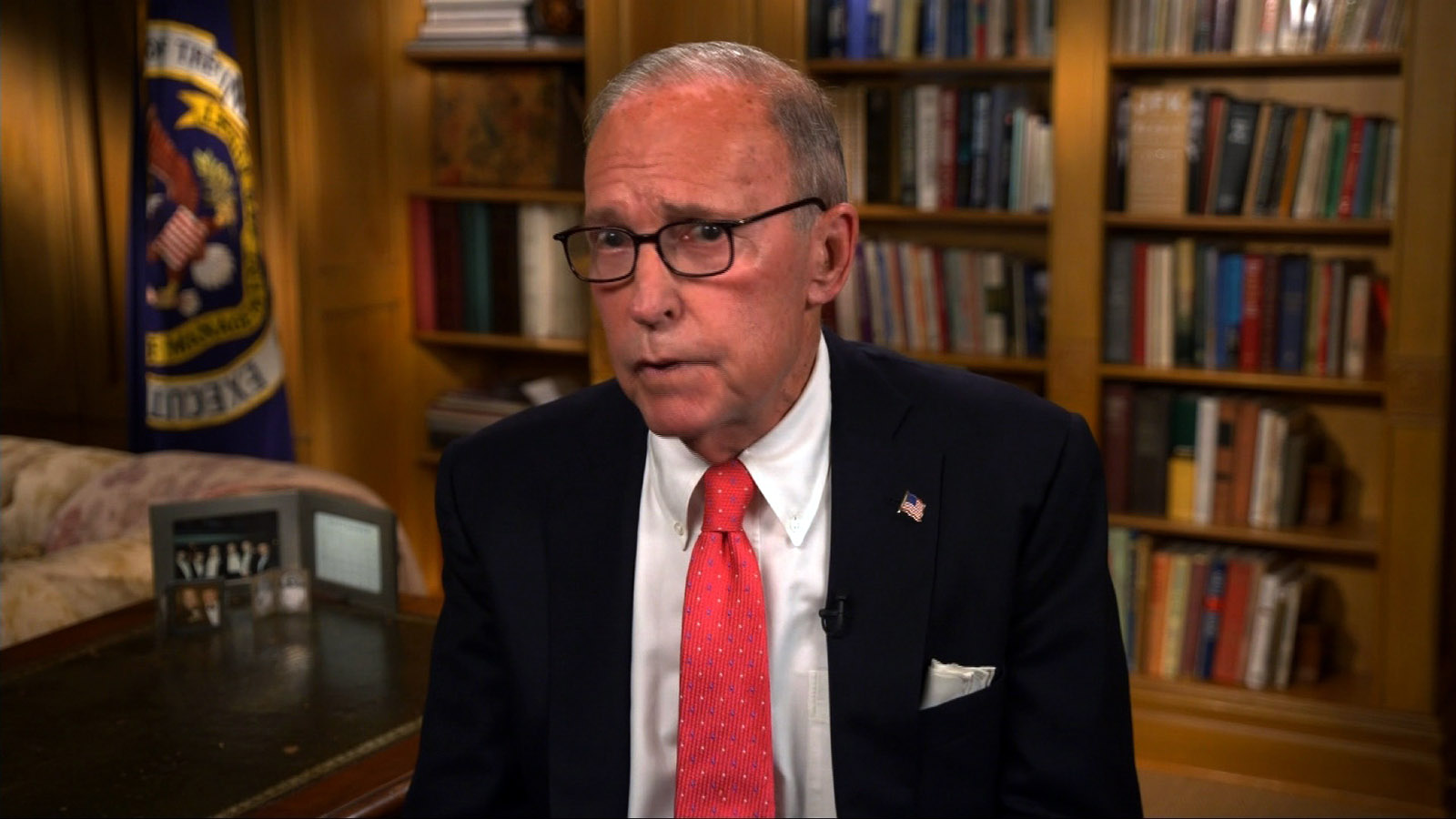 Larry Kudlow, Director of the United States National Economic Council.
