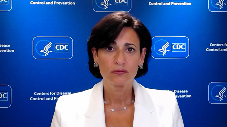 US Centers for Disease Control and Prevention Director Dr. RochelleWalensky