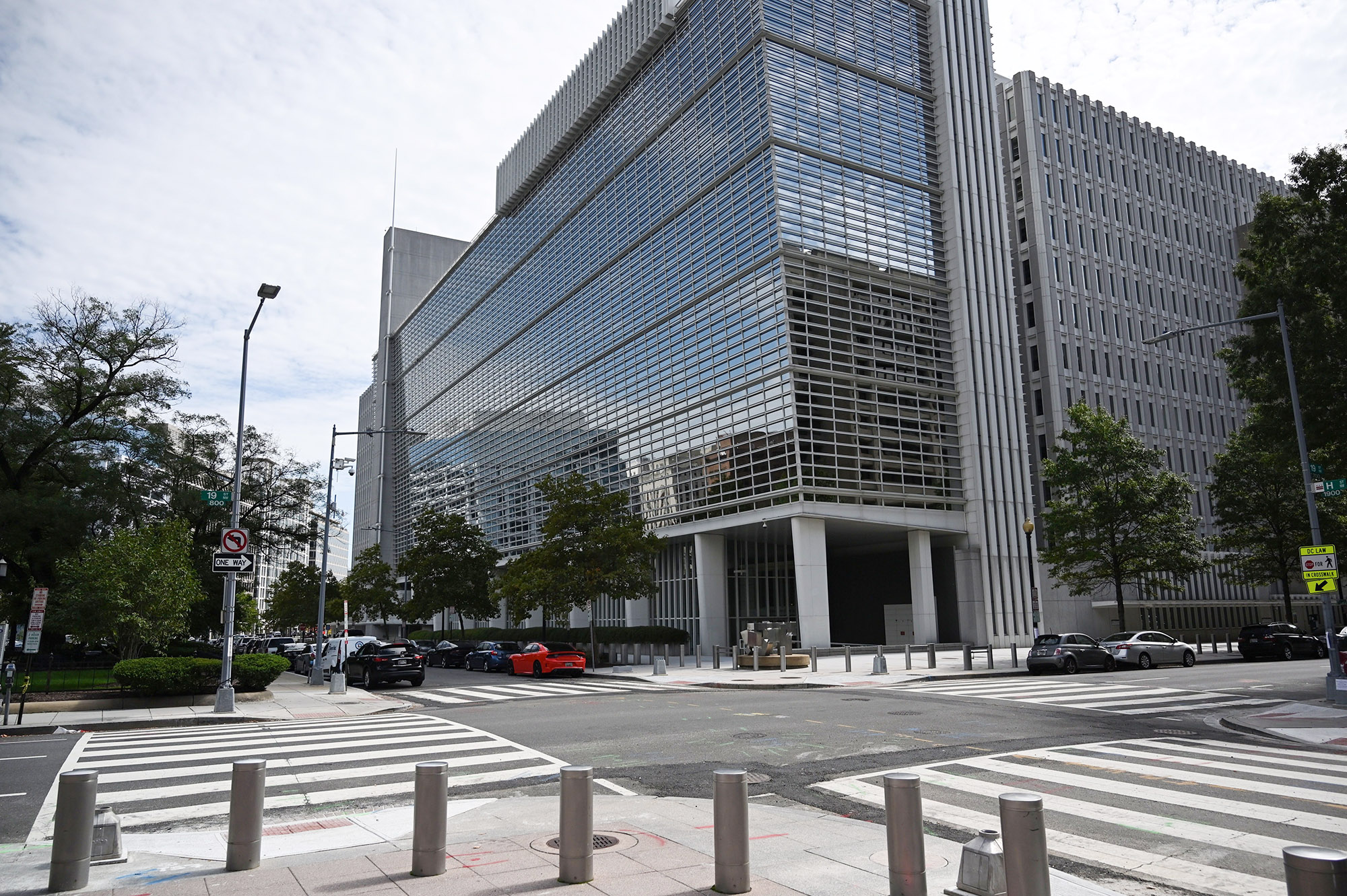 The World Bank headquarters located in Washington DC, on October 1, 2020.