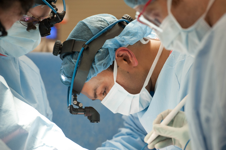 Transplant surgeon, Ankit Bharat.