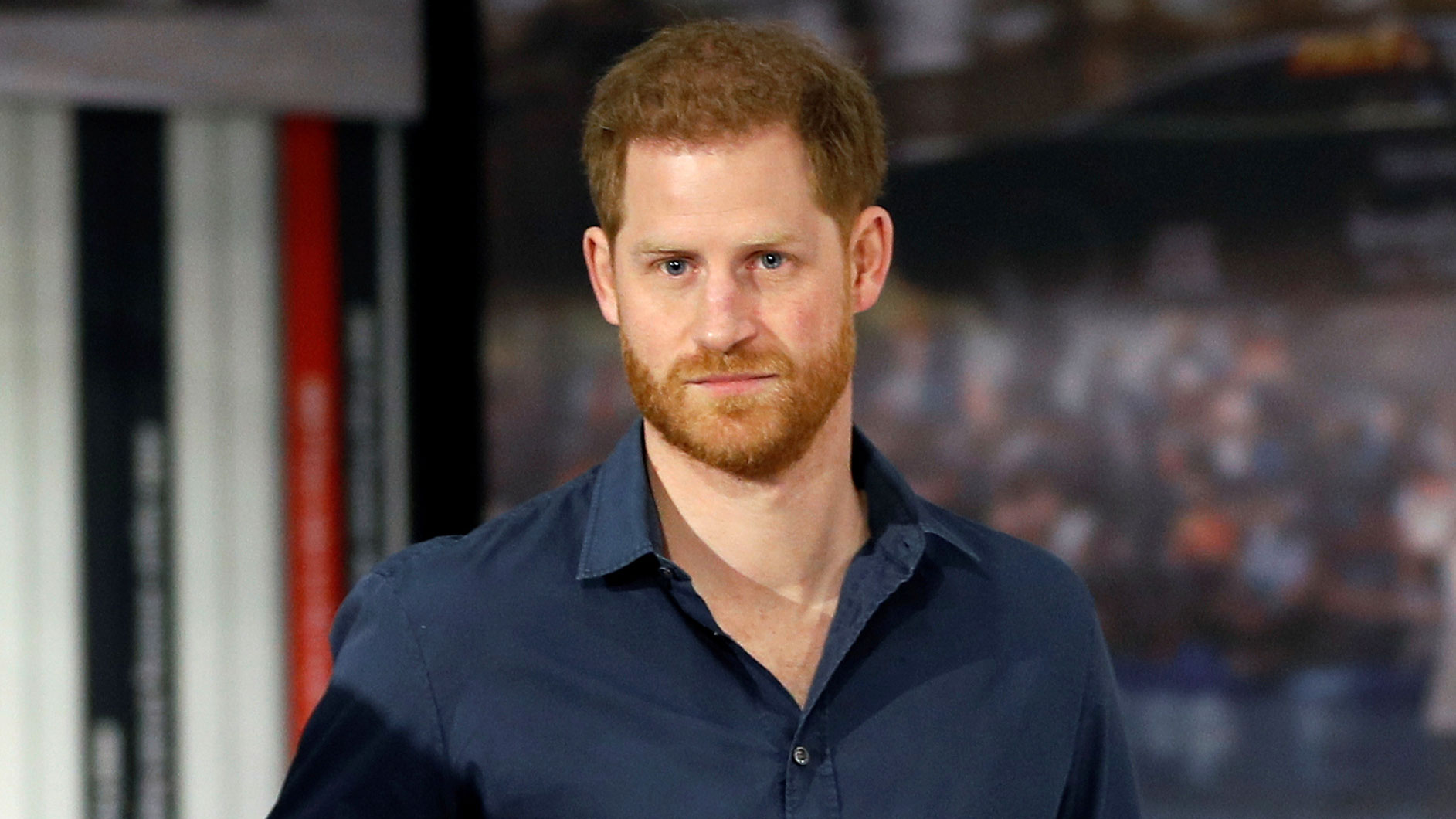 Prince Harry attends an event in Silverstone, England, on March 6.