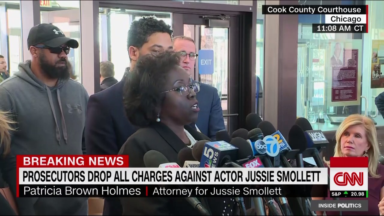 Smollett's court records have been sealed, his attorney says