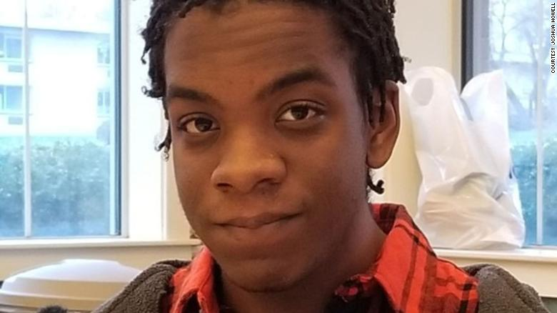 Justin Howell, 20, suffered a fractured skull and brain damage, his brother says.
