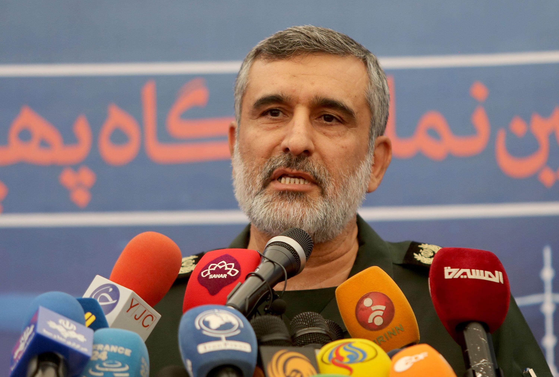 General Amir Ali Hajizadeh,in September.