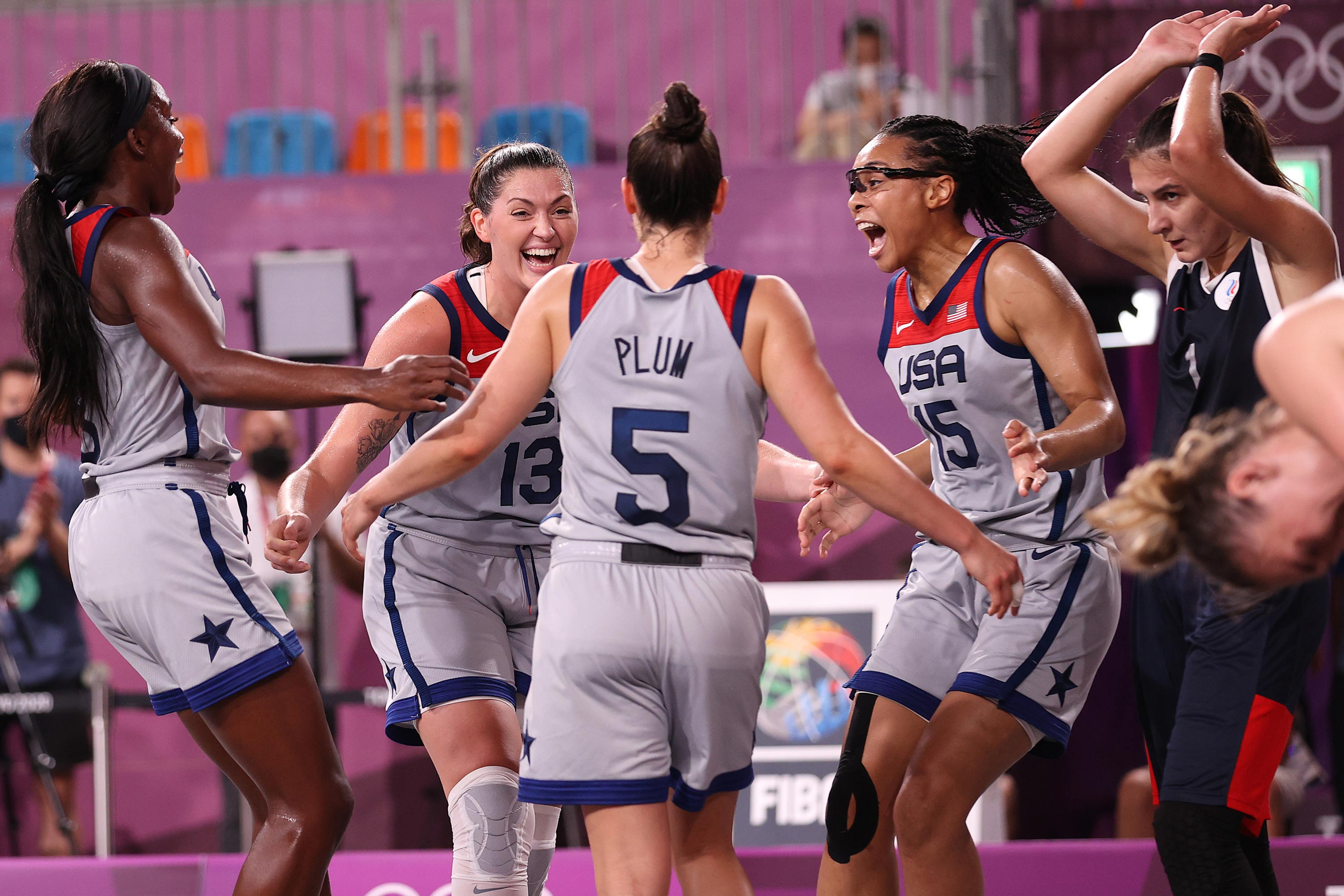 US wins the first ever gold medal in women's 3x3 basketball