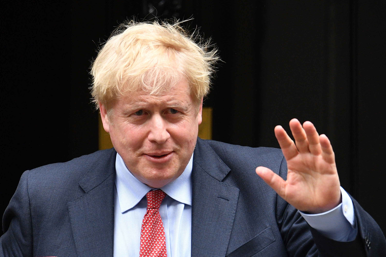 UK Prime Minister Boris Johnson on July 8.