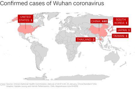 January 22 2020 Coronavirus News