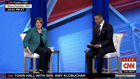 Live updates: Amy Klobuchar takes questions at CNN town hall