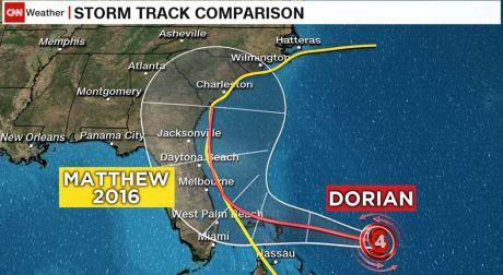 Category 2 storm Dorian heading northwest in the Atlantic - CNN