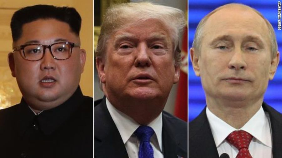 Live Updates Vladimir Putin And Kim Jong Un Hold First Summit